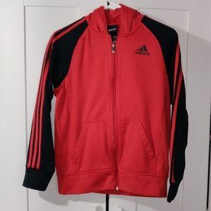 Adidas boy sweater size  Large 14/16
